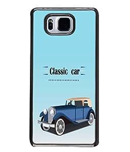 PrintVisa Classic Car High Gloss Designer Back Case Cover for Samsung Galaxy Alpha :: Samsung Galaxy Alpha S801 :: Samsung Galaxy Alpha G850F G850T G850M G850Fq G850Y G850A G850W G8508S :: Samsung Galaxy Alfa