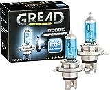 Gread - 2x H4 Frontscheinwerfer Lampe - superwhite - 8500k 55W - eintragungsfrei