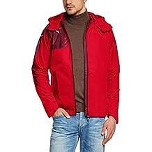 Puma Mestre - Chaqueta impermeable para hombre rojo rojo Talla:large