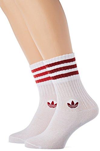 adidas Solid Crew 2PP, Unisex Adult Socks, unisex adult