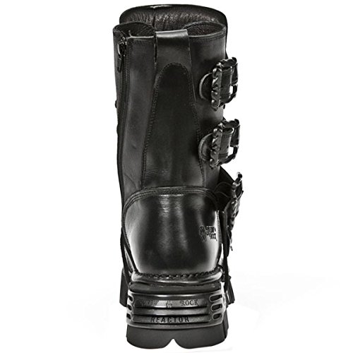 New Rock Womens Oxido M 391 Gothic Leather Boots Black