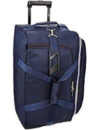 Skybags Cardiff Polyester 64 cms Blue Travel Duffle (DFTCAR62BLU)