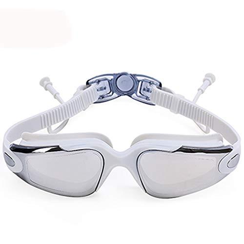 Lnyy Schwimmbrille Ohrhörer HD wasserdichte Anti-Fog-Brille