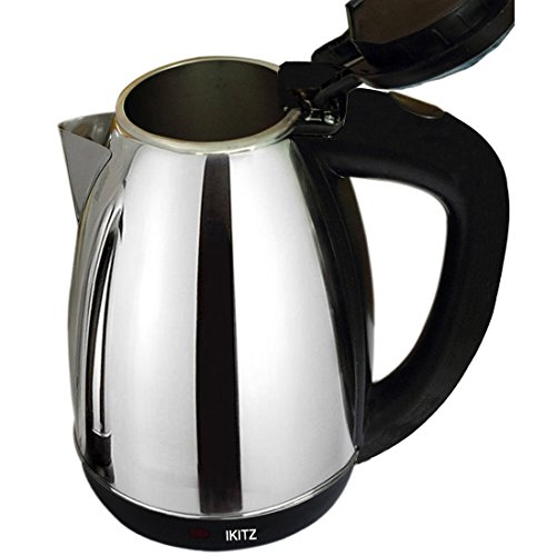 Ikitz 1.8 Liter Electric Kettle (Silver)
