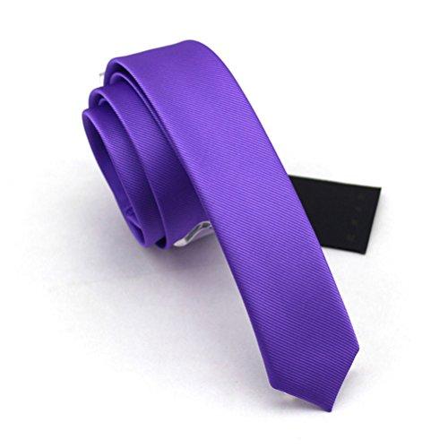 fan-tastik-mens-solid-color-eco-friendly-fashion-skinny-tie-16-4cm-violet