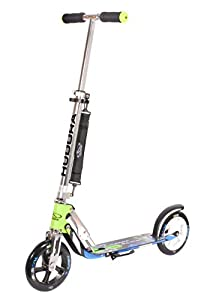 HUDORA Big Wheel 205 Scooter - Tret-Roller, grün/blau, 14750