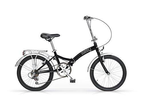 Mbm - Easy 20'' Bicyclette Vélo Pliant Folding Bike Noir/Argent