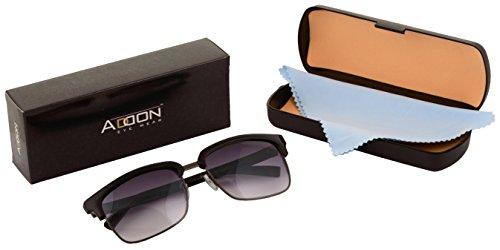 ADDON EYEWEAR Wayfarer Sunglasses For Men (Non Polarized Goggle-Stylish Grey Lens)