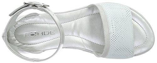 Rohde - Prag, Scarpe col tacco con cinturino a T Donna Grigio (Grau (81 quarz))