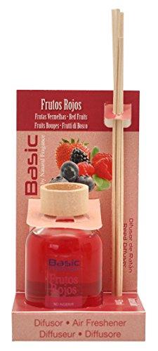 Ambientair Basic - Ambientador para hogar, aroma de frutos rojos, 100 ml