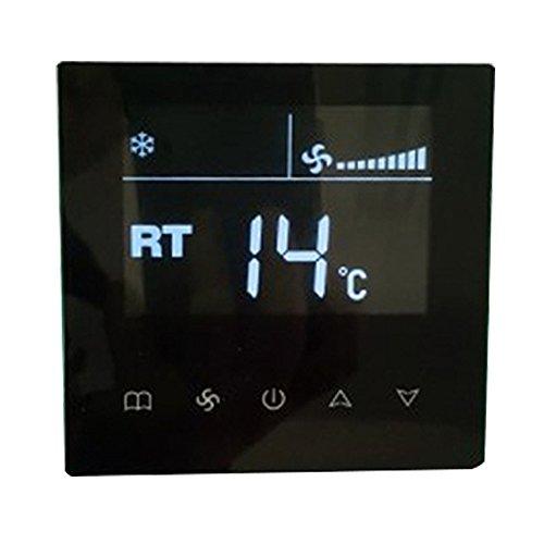 KKmoon Interruptor aire acondicionado central LCD