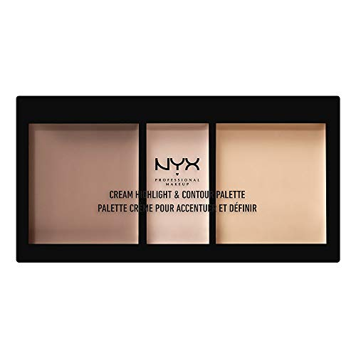 NYX Cosmetics Cream Highlight & Contour Palette Light