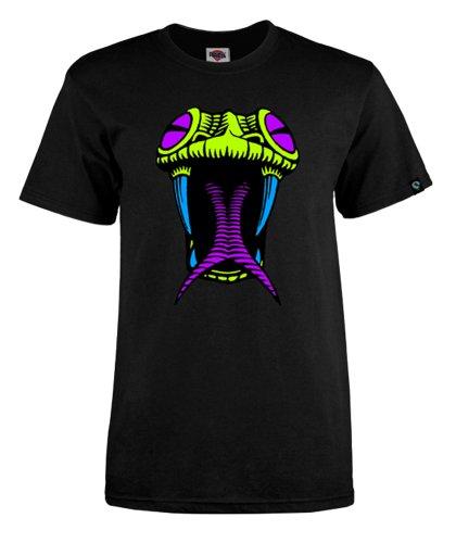 powell-peralta schwarz light Schlangenkopf T-Shirt schwarz
