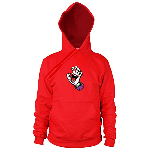 Kostüm Justice League Arrow Green - Planet Nerd Joking Hand - Herren Hooded Sweater, Größe: XL, Farbe: rot