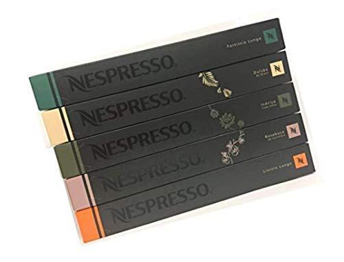 50 Nespresso Capsulas Café Variedad Luxury