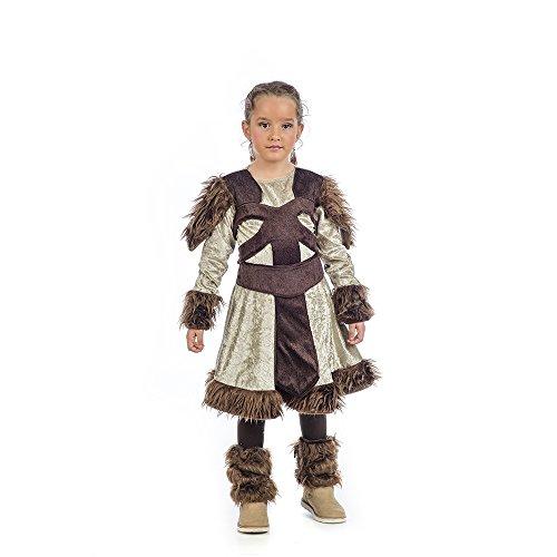 Limit Sport Nerta La Vikinga, disfraz infantil, talla 2 (MI059 2)