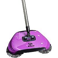 Dracarys Lazy 3 en 1 Limpieza para el hogar Mano Empuje automático Sweeper Escoba – Incluye