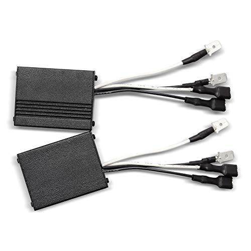 DZG H1/H3/H7 LED Scheinwerfer Canbus Decoder Kein Fehler Warnung Canceller Anti-Flicker Resistor Harness für 12V, 2St