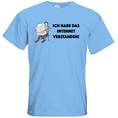 getshirts - Fernsehkritik / Massengeschmack - T-Shirt - verstanden Sky Blue