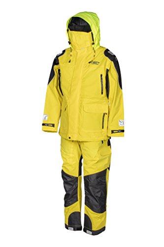 WestCoast Ölzeug Offshore - Segelbekleidung (Jacke + Hose) - Herren/Damen (Unisex)-gelb-L