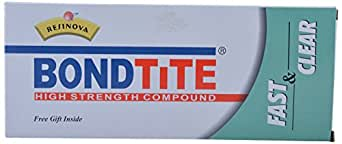 BondTite Resinova -Fast & Clear - Part A & B (250 grams)