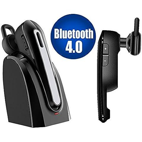 iitrust Auricular Bluetooth inalámbrico con micrófono Mic, reducción de ruido de manos libres en la