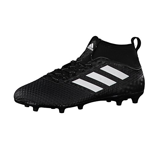adidas BA8508 Ace 17.3 Primemesh, Scarpe per Allenamento Calcio Uomo, Nero (Cblack/Ftwwht/Ngtmet), 45 1/3 EU
