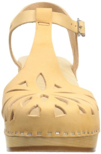 Swedish Hasbeens Lacey, Mules femme Beige (Nature)