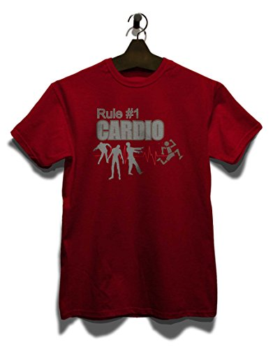 Rule No1 Cardio T-Shirt Bordeaux