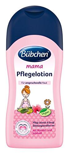 Bübchen Mama Pflegelotion gegen Dehnungsstreifen, 2er Pack (2 x 200 ml) -