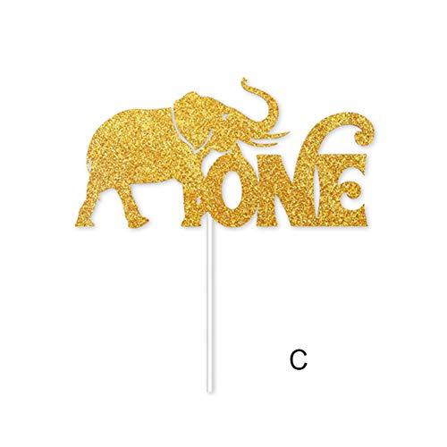 re unter dem Motto Hochstuhl Banner Dekor Crown Party Supplies für Baby 1. Geburtstag ()