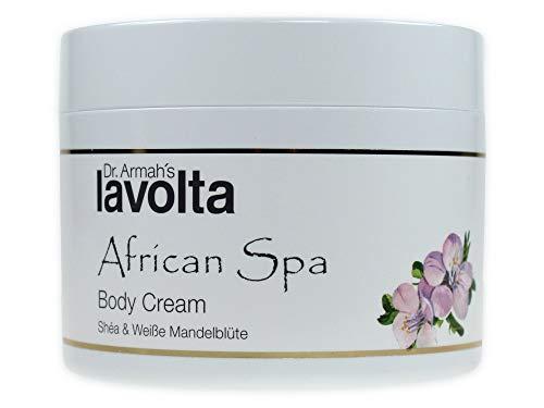 African Spa (LaVolta Shéa African Spa Body Cream Weiße Mandelblüte (200ml) Sonderedition)