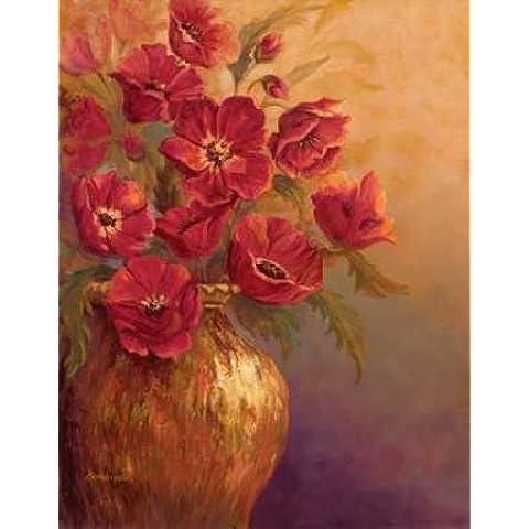 feelingathome-Impresi—n-artistica-Crimson-and-Brass-I-cm94x74-poster-lamina-para-cuadros