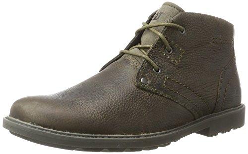 Caterpillar Men's Carsen Mid Dark Olive Chukka Boots, Green (Carsen Mid Dark...