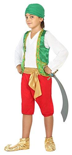 Atosa 22528 - Araber, Jungenkostüm, Größe - Araber Halloween Kostüm Für