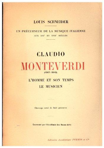 Claudio Monteverdi 1567-1643, l'homm...