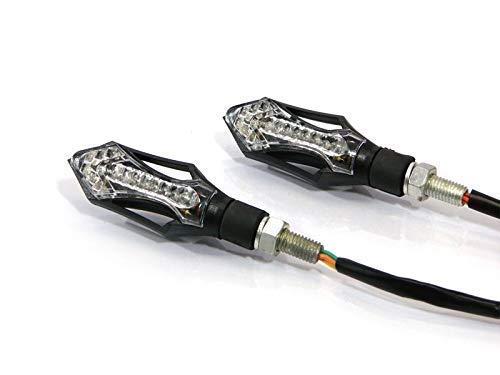 LED Blinker Motorrad mit Integriertem Heckleuchte & Stoplights für die Meisten Arten von Motorrad Quad Atv & Trike