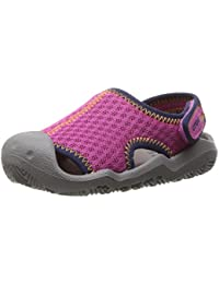 crocs Swiftwater Girls Sandal in Pink