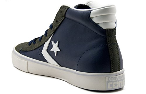 Converse - Pro Leather Vulc, Sneaker alte Uomo Blu bianco
