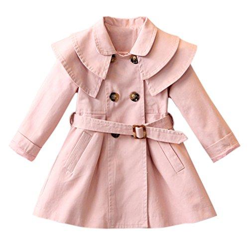 antel Jacke Trenchcoat Prinzessin Kinderjacken kleidung Outerwear Frühling Herbst Sweatjacke (Frühling Mädchen Jacken)
