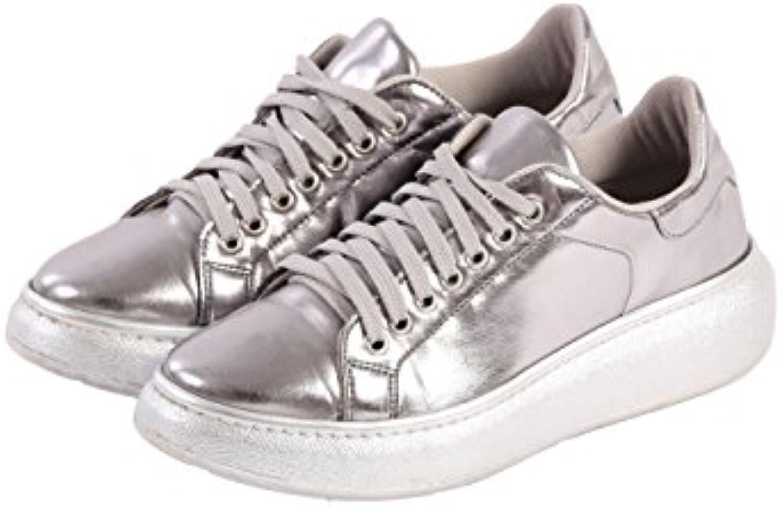 BAHATIKA GmbH - Zapatillas de Material Sintético para mujer Plateado plata