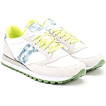 Saucony Sneakers Donna MOD. Jazz Spark 2044 519 White Green c61fb7b517d