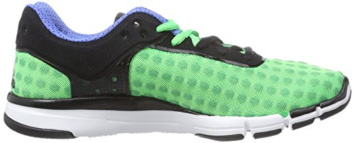 adidas  adipure 360.2 Chill, Sneakers Basses femme Multicolore - Mehrfarbig (Flash Green S15/Core Black/Lucky Blue S15)