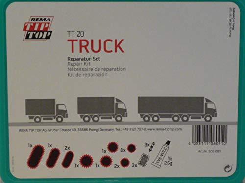 Rema 506091 Tip Top Kit de réparation de tuyau TT 20 TRUCK