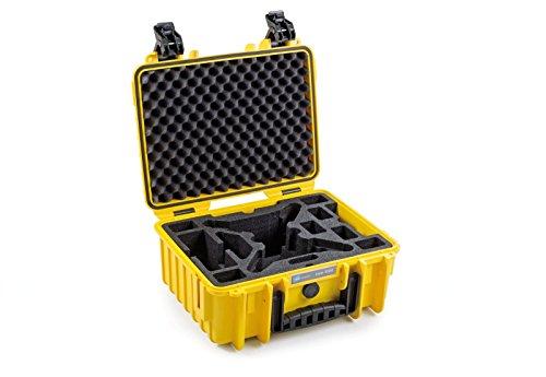 B&W outdoor.cases Typ 3000 mit Yuneec Breeze Inlay - Das Original