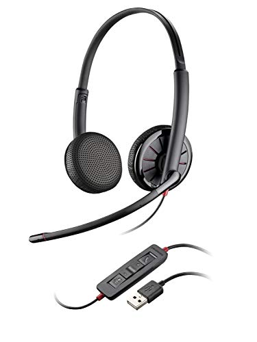 Plantronics USB- & 3,5 mm-Stereo-Headset