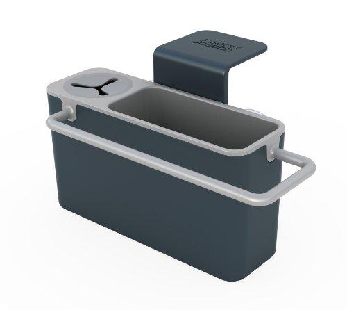 Joseph Joseph Sink Aid Organizer per Lavello della Cucina, Plastica, Grigio
