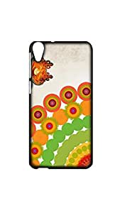 Happy Deepawali Festival Of Lights Designer Mobile Case/Cover For HTC Desire 820
