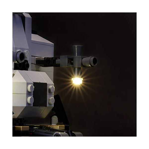 LIGHTAILING Set di Luci per (Creator NASA Apollo 11) Modello da Costruire - Kit Luce LED Compatibile con Lego 10266 (Non… 5 spesavip