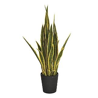 Planta artificial lengua de tigre 105 cm altura bicolor, Catral 74010009